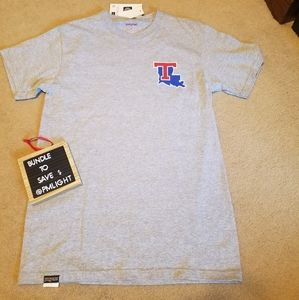 Louisiana Tech T-shirt S New Grey by JanSport